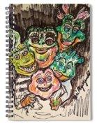 Dinosaurs Spiral Notebook