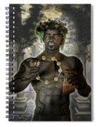 Dionysus God Of Grape Spiral Notebook
