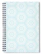Dip In The Pool -  Pattern Art By Linda Woods Spiral Notebook