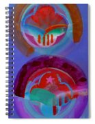 Diptych Spiral Notebook