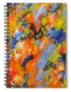 Diptych Part 2 Spiral Notebook