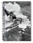 Direct Hit Spiral Notebook