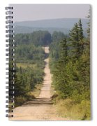 Dirt Road To Dolly Sods Spiral Notebook