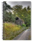 Dirt Roads Spiral Notebook