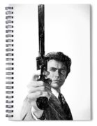 Dirty Harry Charcoal Spiral Notebook
