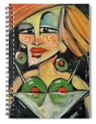 Dirty With Two - The Julianne Moore Version Spiral Notebook