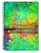 Disappearing In Colour Spiral Notebook