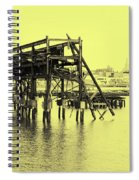 Disappearing Pier Spiral Notebook