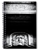 Disapproving Scowl Spiral Notebook