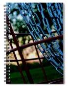 Disc Golf 811 Spiral Notebook