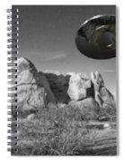 Disc Over Indian Cove Spiral Notebook