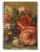 Discarded Roses  Spiral Notebook