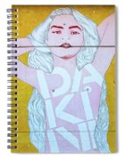 Disco Bey - Graffiti Art Spiral Notebook