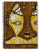 Disco Sharks Spiral Notebook