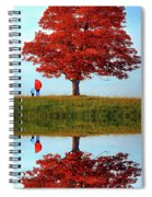 Discovering Autumn - Reflection Spiral Notebook