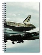 Discovery Riding Home Spiral Notebook