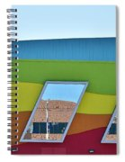 Discovery Science Center Window Reflection Spiral Notebook