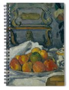 Dish Of Apples Spiral Notebook