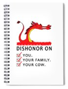 Dishonor Spiral Notebook