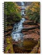 Dismal Falls In Autumn Spiral Notebook