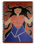 Dismembered Woman Spiral Notebook