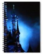Disney Blues At Night  Spiral Notebook