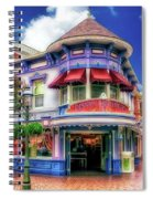 Disney Clothiers Main Street Disneyland 01 Spiral Notebook