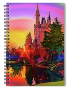 Disney Fantasy Art Spiral Notebook