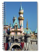 Disneyland Castle Spiral Notebook