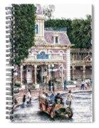 Disneyland Fire Truck Pa 03 Vertical Spiral Notebook