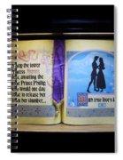 Disneyland Waiting For True Loves Kiss Spiral Notebook