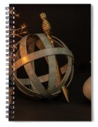 Disparate Objects 2 A Still Life Spiral Notebook