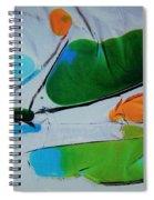 Dissected Flower Spiral Notebook