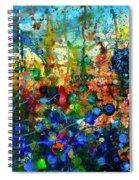Dissolution And Rebirth Spiral Notebook