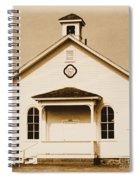 Dist No 5 Spiral Notebook