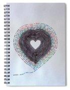 Distance Spiral Notebook