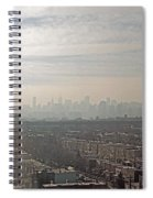Distant City Spiral Notebook