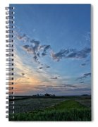 Distant Farm Spiral Notebook