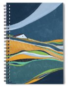 Distant House Spiral Notebook