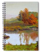 Distant Maples Spiral Notebook