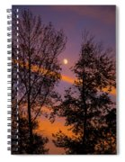 Distant Moon Spiral Notebook