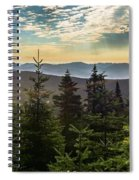 Distant Mountains To The East Spiral Notebook