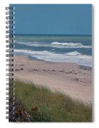 Distant Pier Spiral Notebook