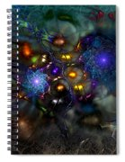 Distant Realms Of The Imagination Spiral Notebook