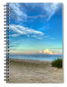Distant Thunderhead Spiral Notebook