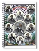 Distinguished Colored Men Spiral Notebook