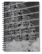 Distorted Views Spiral Notebook