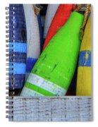 Distressed Buoy Spiral Notebook