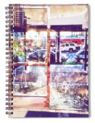 Distressed City Spiral Notebook
