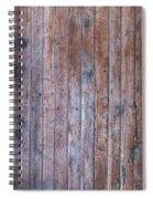 Distressed Door Spiral Notebook